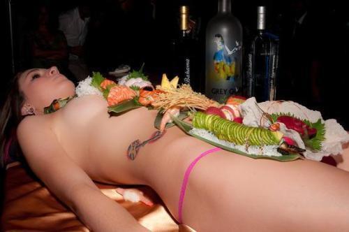 盘点最昂贵人体寿司宴