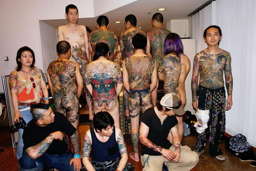 日本的纹身文化 大开眼界-读书频道-和讯网