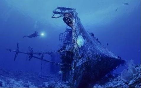 组图:沉船遗骸 探秘不为人知的海底坟墓