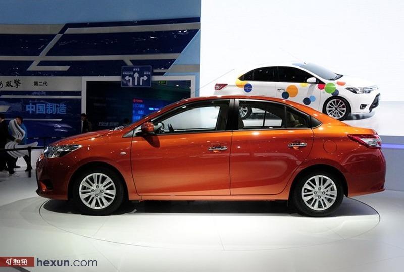 丰田新一代威驰上海车展正式发布