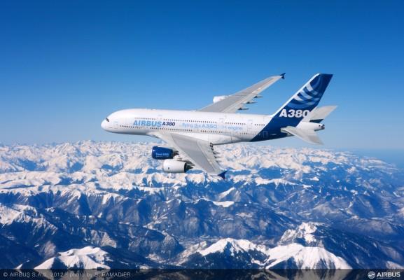 空客a350xwb宽体飞机首飞(图赏)