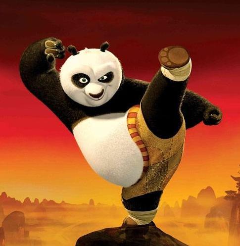 组图:揭功夫熊猫原型是姑娘照片资料