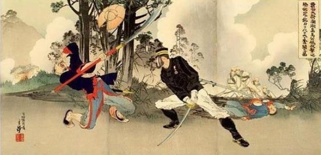 日本绘画中的甲午战争(组图)