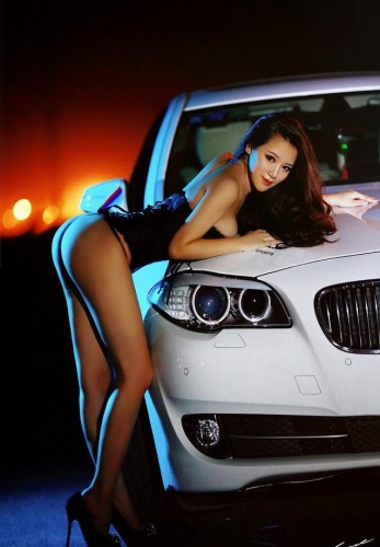 车模美女图片 丰田86改装车 高清图片