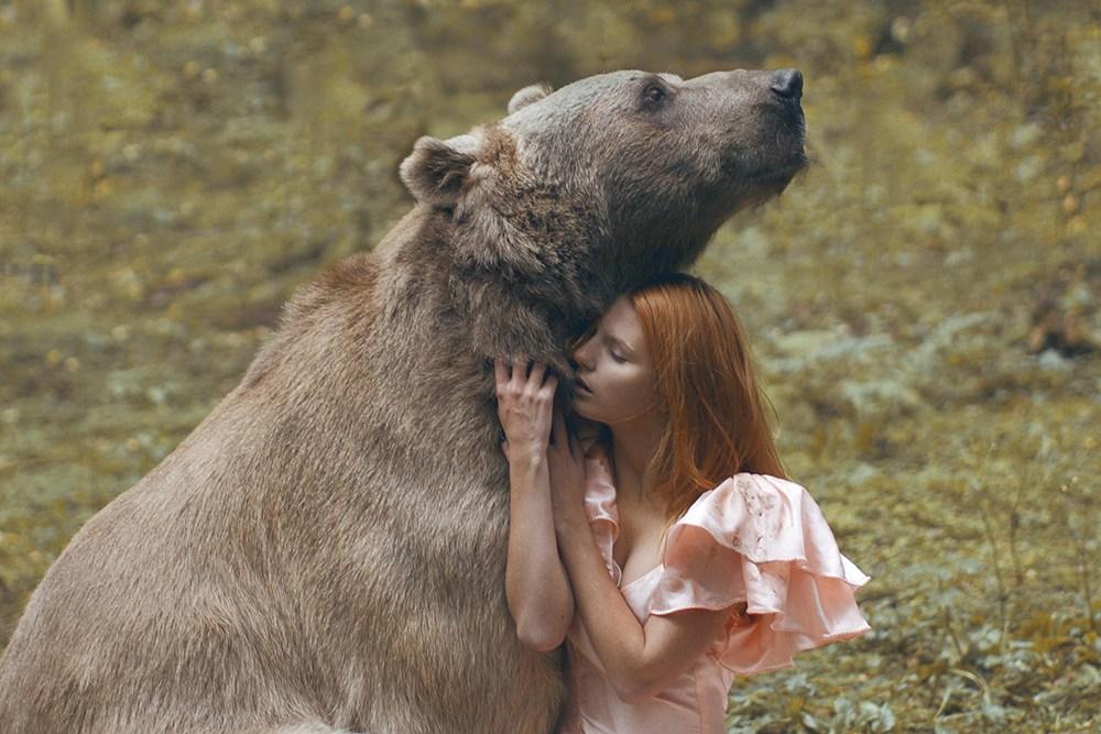 揭秘:美国真人版的美女与野兽