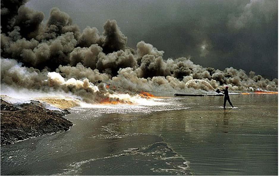 20世纪末的大战:海湾战争