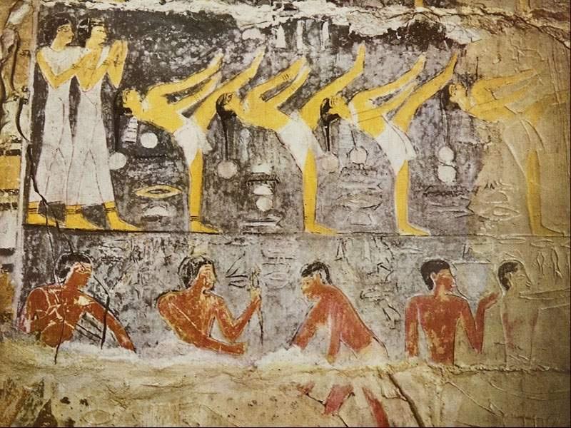 盘点神秘的古埃及壁画图片
